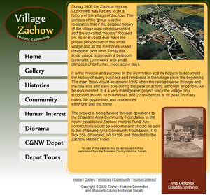 Zachow Historic Committee